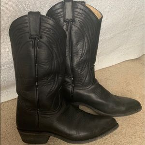 Frye Billy Pull On Black Washed Oiled Vintage 10